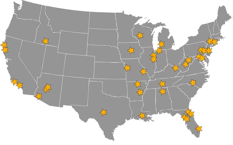GTC Map